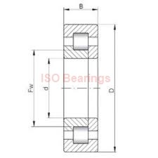 ISO 71916 CDB angular contact ball bearings