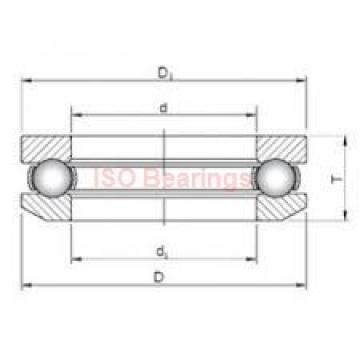 ISO NCF3017 V cylindrical roller bearings