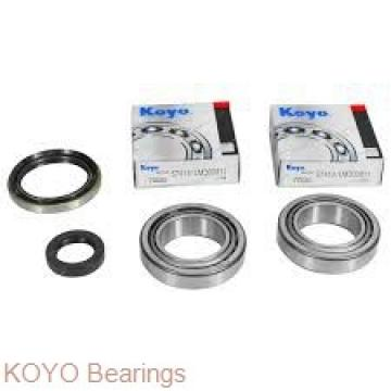 KOYO N244 cylindrical roller bearings