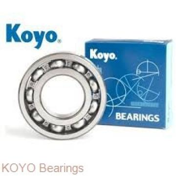 KOYO ACT032DB angular contact ball bearings