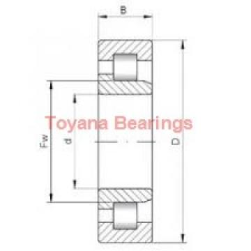 Toyana NU2306 E cylindrical roller bearings