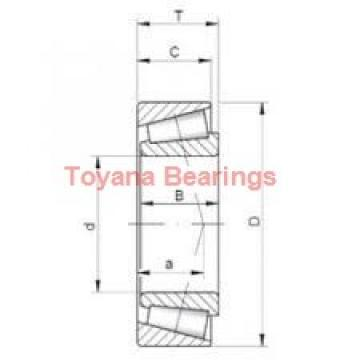 Toyana NA4922-2RS needle roller bearings