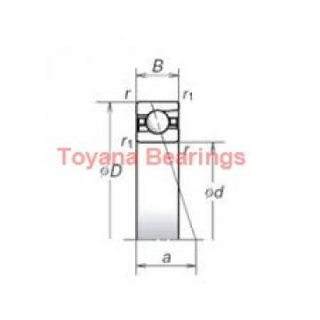 Toyana 3217 ZZ angular contact ball bearings