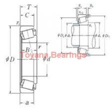 Toyana 32026 AX tapered roller bearings