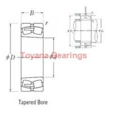 Toyana 23032 ACMBW33 spherical roller bearings