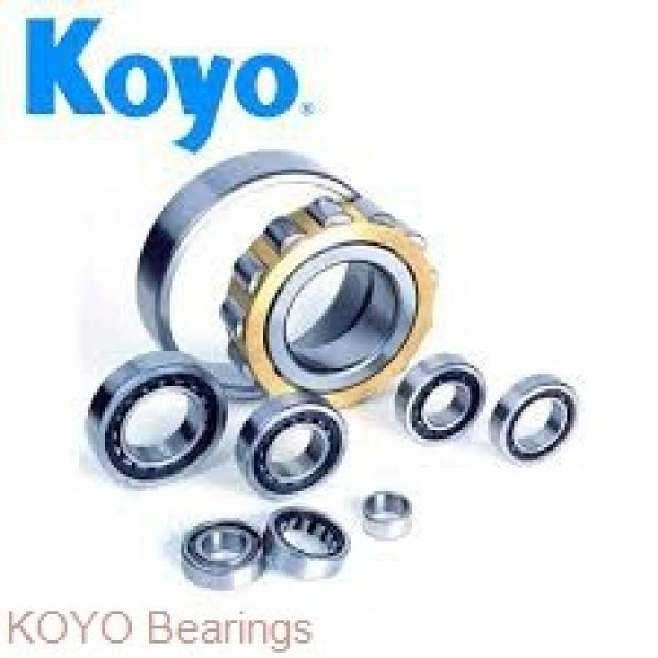 KOYO 51109 thrust ball bearings #1 image